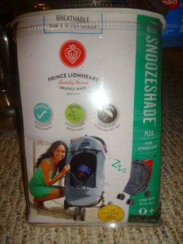 Deluxe Snoozeshade Plus Sun and Sleep Shade For Strollers New in Package