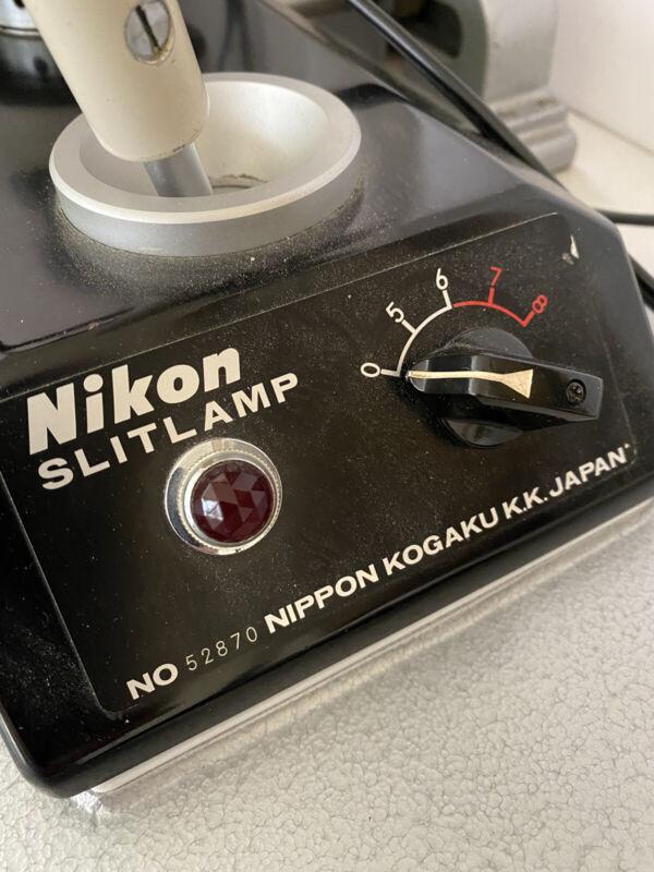 Nikon Slit Lamp Nippon Kogaku No 52870