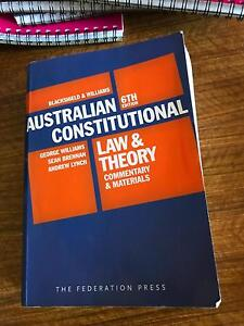 Australian Constitutional Law and Theory Armidale Armidale City Preview
