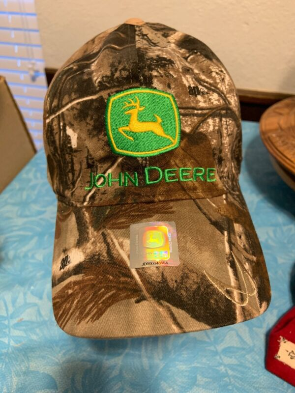 John Deere Reversible Cap New