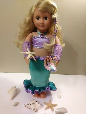Mermaid Girl Doll 18