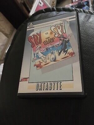 ATARI 800 XL XE Game  SPY V  SPY THE Island Capers Tested Rare