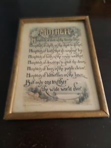 Vintage mother print kitsch