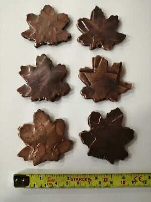 Solid Copper Maple Leaf
