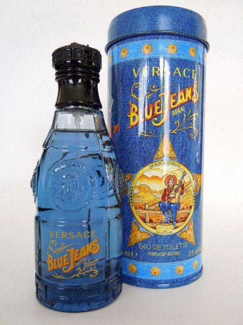 VERSACE BLUE JEANS 75ml Eau de Toilette Spray NEU