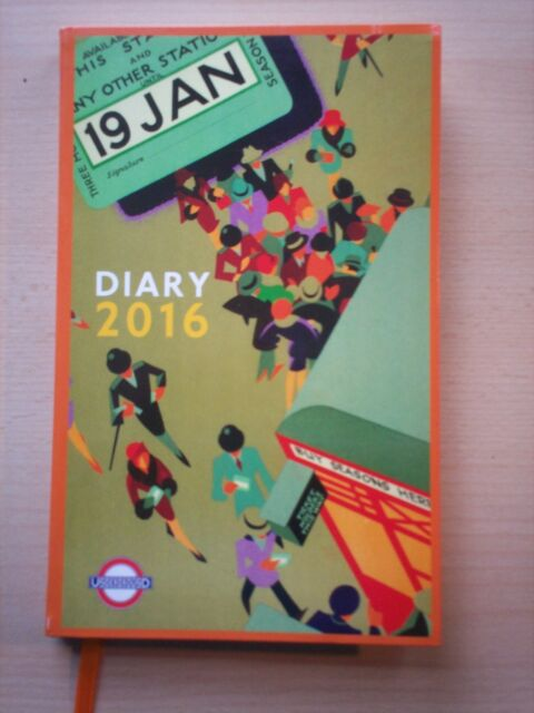 The London Underground Poster Diary: 2016