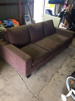 Three seater lounge - great single bed too