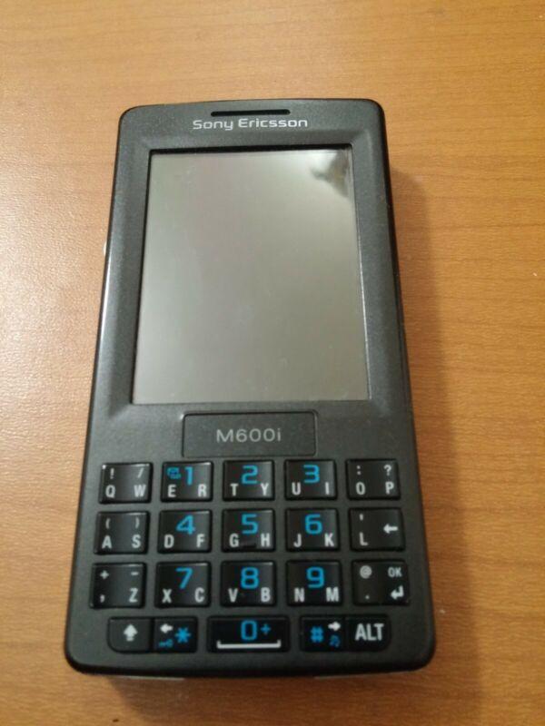 SONY ERICSSON M600i BLACK MOBILE PHONE UNLOCKED.