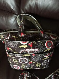 Jujube diaper bag.    Ju-ju-be