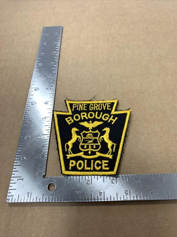 PINE GROVE BOROUGH POLICE PATCH