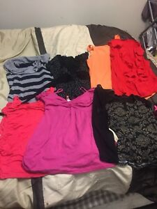 13 small/medium tops