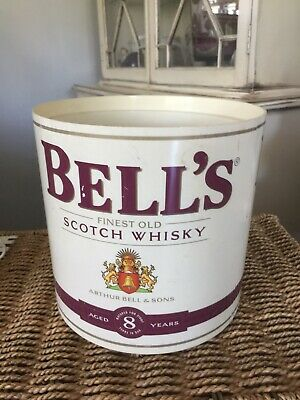 Vintage Ice Bucket Bells finest old scotch whisky