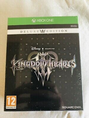 Kingdom Hearts 3 III Deluxe Edition Xbox One Game - New and Sealed