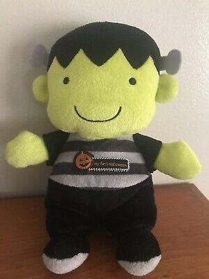 Halloween Toys For Babies (Carters My First Halloween Plush Frankenstein Baby Toy 8