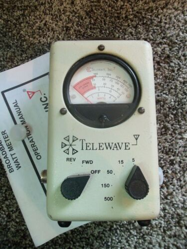 Telewave 44A Thruline Watt Meter / Bird 43 4304A Type / so239 UHF