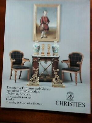 CHRISTIE'S Decorative Furniture Acquired for Mar Lodge, Braemar, Scotland