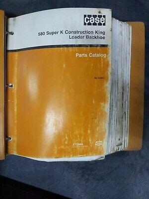 Case Super K Construction King Loder Backhoe