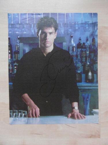 Tom Cruise Autogramm signed A4 Magazinbild