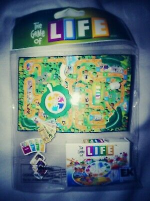 Hasbro Game Stickers - The Game of Life  Game RARE  Hasbro Jolee's Boutique 3D Sticker Scrapbook Craft