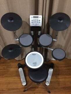 Roland HD-3 Electronic Drums + Extras