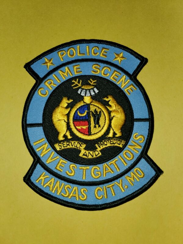 Kansas City Missouri Crime Scene Investigations Patch