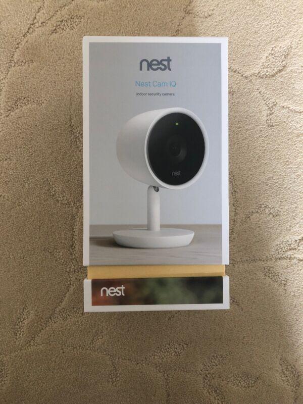 Nest Nest Cam IQ Indoor Security Camera White NC3100US