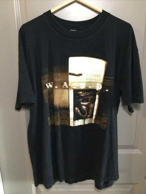 W.A.S.P. Kill F*ck Die 1997 World Tour Black T Shirt XL WASP KFD