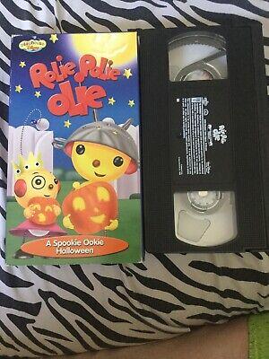 Rolie Polie Olie: A Spookie Ookie Halloween (VHS, 2001) - Rolie Polie Olie Halloween