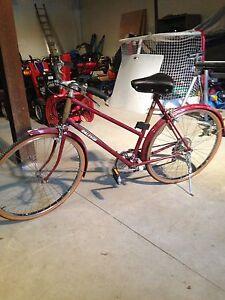 Full size Raleigh 5 speed bike