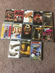 11 Psp movies plus 2 games for $20