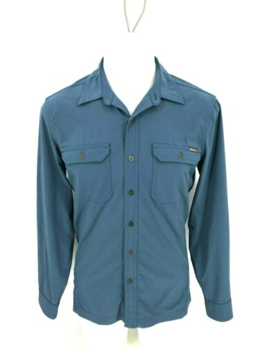 Eddie Bauer Men Hiking Outdoor Button Up Shirt Long Sleeve Size S Small C45