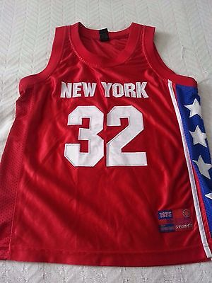 Soho Sports Youth New York Jersey number 32 Size L