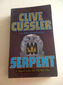 Book Serpent Clive Cussler with Paul Kemprecos The Numa Files