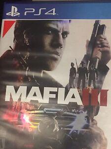 PS4 mafia 3 40$ ou échange contre black ops3 ou gta5