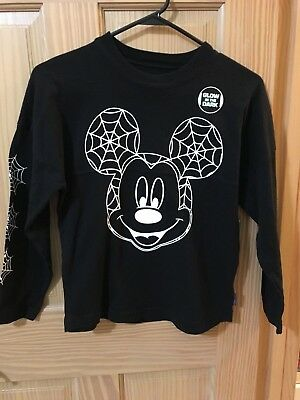 NWT Disney Store Mickey Mouse Boys Long Sleeve Shirt Top M,L Halloween - L'halloween Disney