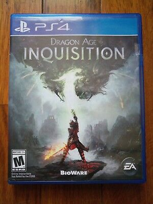 Dragon Age: Inquisition (Sony PlayStation 4, 2014) Used
