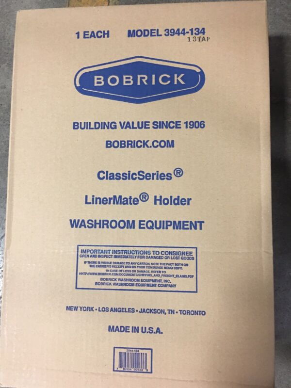 BOBRICK B3944-134 LinerMate for B-3944, For 12 Gallon Waste Receptacle