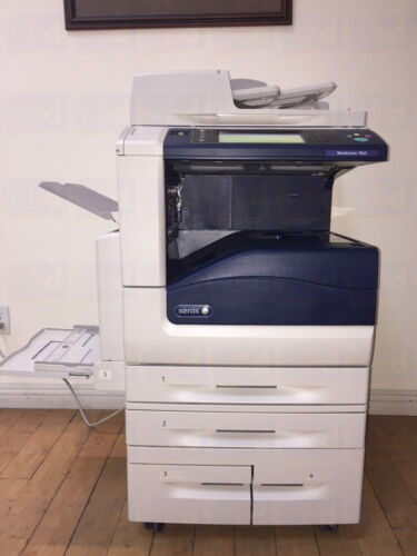 Xerox Workcentre 7845 A3 Color Laser Copier Printer Scanner 45 Ppm Less 5k Demo