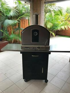 Gasmate Stainless Steel Deluxe Pizza Oven with Stand