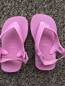 Pink baby havaianas size US 6.5C Woodside Adelaide Hills Preview