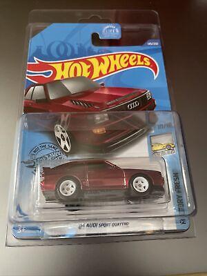 Hot Wheels 2020 Super Treasure Hunt '84 Audi Sport Quattro W/Protector 145/250