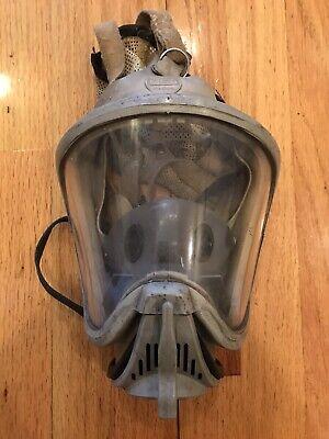 Msa Ultra Elite Respirator Mask Size Medium Used Fire Firefighter