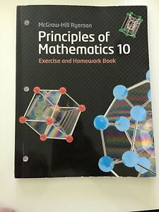 Principles of Mathematics 10 Workbook