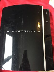 PlayStation 3 80gb model,