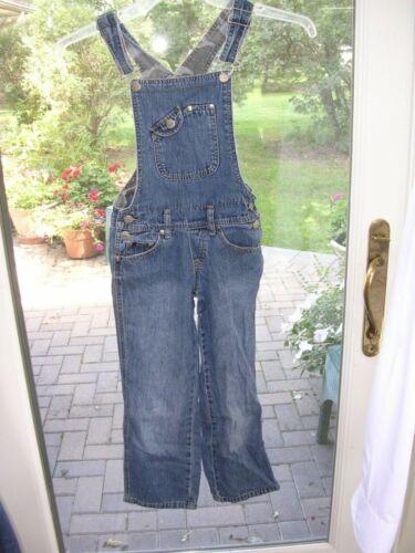 #288 Childs Youth Size cotton Denim Blue Jean Bib Overalls Size 7