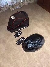 fox kids bmx race helmet and gloves. Ringwood Maroondah Area Preview