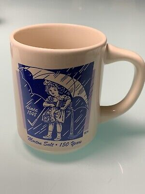 Vintage Morton Salt Coffee Mug