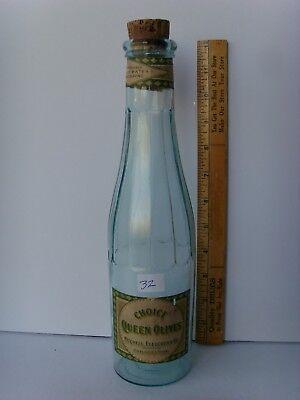 """Antique Labeled """"Philadelphia"""" Fancy Cathedral Pickle Jar 11¾"""" ~1870-1885 38/32"""