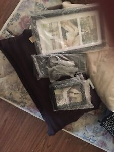 9 piece photo frame set