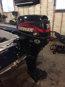 2001 evinrude 30 hp 4 stroke electric start